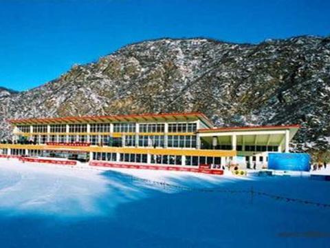 万龙滑雪场旅游景点图片