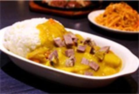 斯里兰卡咖喱拌饭