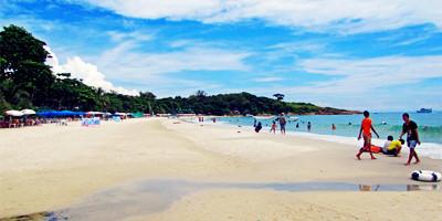 钻石海滩热闹3日游