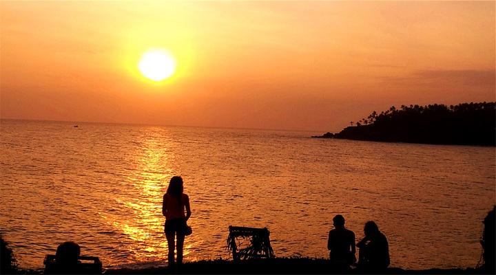 海上日落旅游图片
