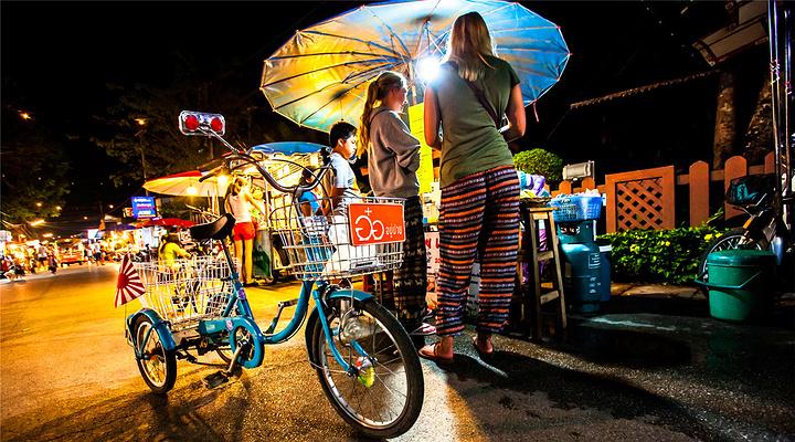 拜县夜市旅游图片