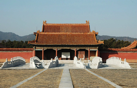 清东陵旅游景点图片