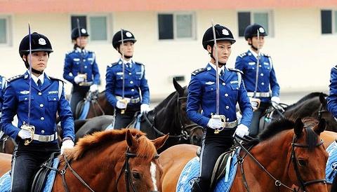 大连女子骑警基地