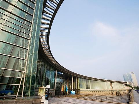 上海科技馆旅游景点图片