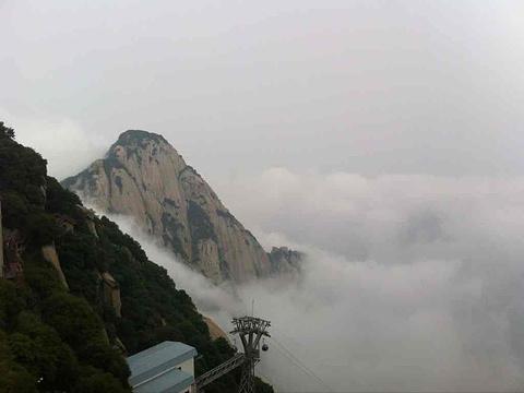 华山旅游景点图片
