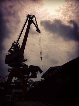 日照港的图片