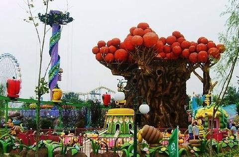 石景山游乐园的图片