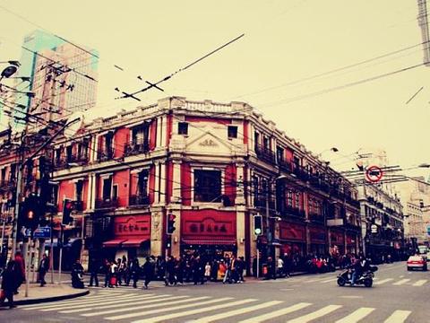 淮海路商业街旅游景点图片