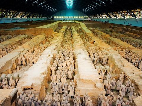 秦始皇帝陵遗址公园旅游景点图片