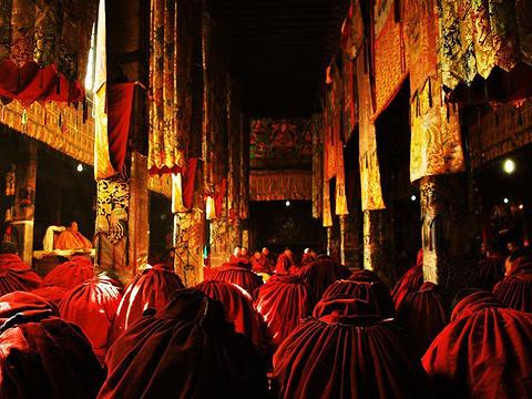 拉萨清真大寺旅游景点图片