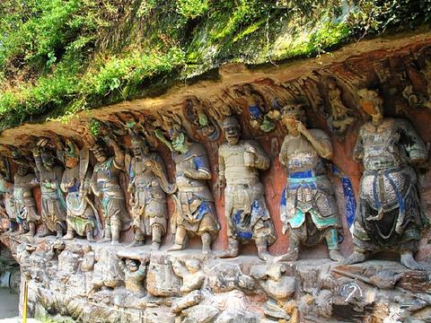 大足石刻旅游景点图片